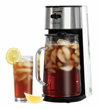 Capresso 80 oz. Black/Silver Iced Tea Maker