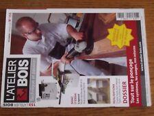 $$$ Revue L'atelier bois N°153 PoncageLogosolChaise hauteTable a plateau