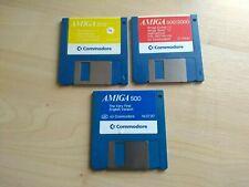 More details for amiga 500 workbench 1.2 disks (set of 3)