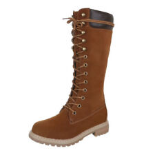 Stiefel ohne Muster in EUR 38