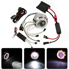 Universal Bi-Xenon HID Kit Projectors Lens Light For H7 H4 H1 Motorcycle Enduro