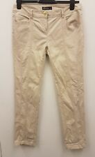 Internacionale Beige Chino Trousers Casual Summer Holiday Work Trousers UK10
