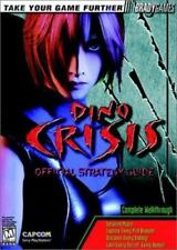 Dino Crisis : Official Strategy Guide by BradyGames Staff (1999, Paperback)