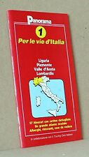 Per le vie d'italia 1 - liguria piemonte valle d'aosta lombardia - panorama