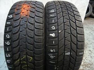 1 New Bridgestone Blizzak Lm-25-195//60r16 Tires 1956016 195 60 16