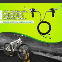Aluminium Alloy Bike Brake Clutch Handle Grip Lever for Electric Bike Scooter