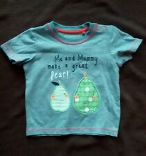 Me and Mummy Make a Great Pear T Shirt by Tu - Size 6-9 Months