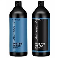 Matrix Total Results Moisture Me Rich Shampoo & Conditioner Duo, 33.8oz Each