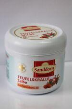 ( 23,60€/ L) Teufelskrallesalbe   250 ml Naturfreunde-MV mit Sanddornöl