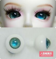 14mm  For BJD DOD AOD MK OK RD Doll Dollfie Glass Eyes Outfit light green 053