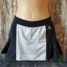 Sz 32 S 8 STELLA MCCARTNEY Barricade Adidas Womens Blue White Tennis Skirt Skort