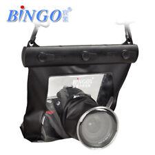 Bingo Waterproof SLR Camera Bag 150mm Lens Underwater 20M Plastic Black DryBag