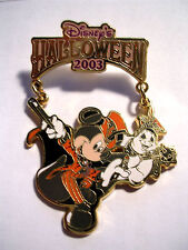 TOKYO DISNEYLAND JAPAN 2003 HALLOWEEN MICKEY AND GHOST SPECIAL EVENT PIN