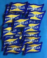 20 Lot Vintage 1960's Goodyear Tires NASCAR Sponsor Racing Gear Jacket Patches