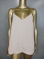 WITCHERY CAMI BLOUSE SHIRT TOP TANK TUNIC -  CHAIN DETAIL  - SIZE 10