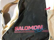 Vintage 80's Salomon Club Ski Boot Bag Neon Retro and Pink Cool Ski Gear