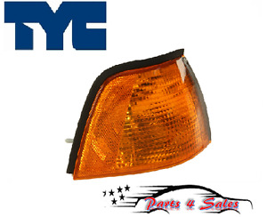Right Front E36 318i 325i 318ti M3 Tyc Turn Signal Light with Yellow Lens BMW