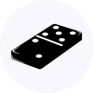 'Domino Piece' Stickers (SK026054)