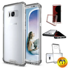 For Samsung Galaxy Note 8/S8+Plus Clear Shockproof Bumper Slim Hard Case Cover