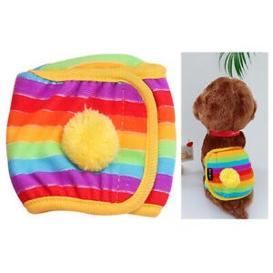 1 pcs Reusable Dog Physiological Shorts Underwear Pants Puppy Belly Band Wrap