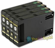 4 Yellow T7014 non-OEM Ink Cartridge For Epson Pro WP-4545DTWF WP-4595DNF