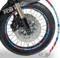 PROFILI ADESIVI ANNIVERSARY CERCHIO RUOTA BMW R 1200 GS ADVENTURE 2013-2017