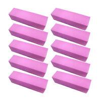 1/5/10Pcs Nail Art Buffer Pedicure Block File Manicure Buffing Sanding Polish SM