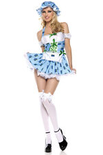 Be Wicked Blue Berry Delight Candyland Sexy Costume