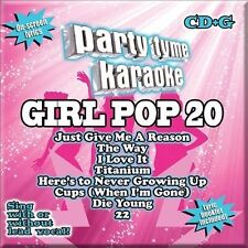 PARTY TYME KARAOKE-GIRL POP 20  (US IMPORT)  CD NEW SEALED   #35