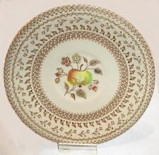 "JOHNSON BROS. STAFFORDSHIRE OLD GRANTITE ""FRUIT SAMPLER"" PATTERN SAUCER~ENGLAND"