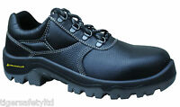 Delta Plus Panoply Prism S1P Mens Black Leather Composite Toe Cap Safety Shoes