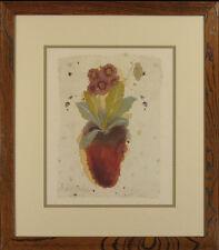 "Clare Sprawson Botanical Print: ""Auricula"""