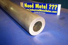 """3-1/2"""" OD x 2"""" ID x 48"""" x 3/4"""" Wall 6061 Aluminum Round Tube->3.5"""" OD x .750""""w"""