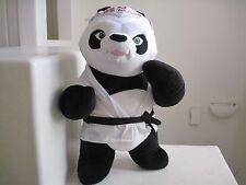 "GIANT Toy Factory Kung Fu PANDA 24"" Stuffed Animal SUPER RARE"