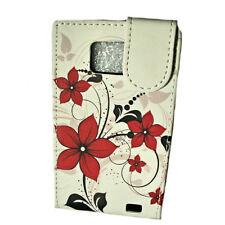 Design 1 Flip Style Handy Tasche Cover Case Hülle für Samsung i9100 Galaxy S2
