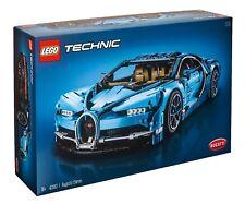 LEGO Technic Bugatti Chiron Blue Race Car Set 42083 1/8 Scale Replica Model