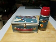 New ListingVintage 1958 Thermos Spaceship Astronaut Outer Space Rocket Lunchbox