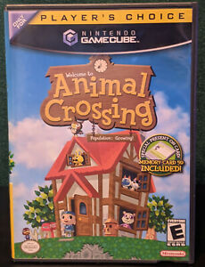 Animal Crossing [Gamecube / Player's Choice] *TESTED / MANUAL W/ MEMORY CARD!*