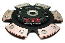 XTR CERAMIC BUTTON CLUTCH DISC JDM MITSUBISHI LANCER EVOLUTION 1 2 3 TURBO 2.0L