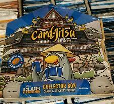 Club Penguin Card-Jitsu Disney English Collector Box SELAED Box LOOK