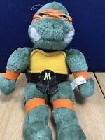 Teenage Mutant Ninja Turtles vgc Plush  Michelangelo TMNT VERY RARE Vintage