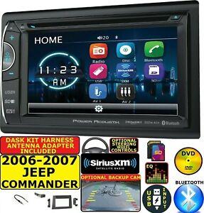 2006 2007 JEEP COMMANDER BLUETOOTH USB CAR RADIO STEREO PACKAGE W/ OPT. SIRIUSXM