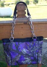 True Timber Purple Camouflage Handbag-Made In USA