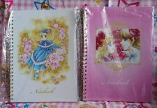 Candy Candy Yumiko Igarashi Japan Anime Paper Notebook Note Book Pad set of 2pcs