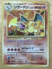 Charizard Pokemon Holo Base Set 1996 Japanese 006 G