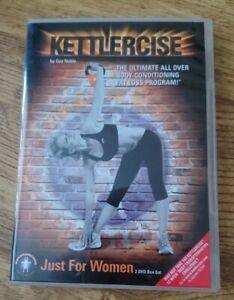 Kettlercise ~  Kettle Bell Fitness -  Work Out /  DVD