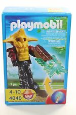Playmobil Set 4848 Treasure Hunter Temple Guard w/ LED Weapon Tree Protector NEW