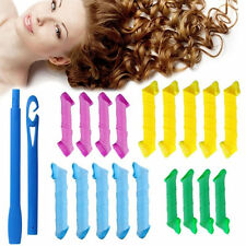 18PCS/Set Curl DIY Hair Curlers Tool Styling Rollers Spiral Circle Magic Rollers