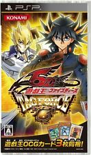 Used PSP Yu-Gi-Oh! Five Deeds Tag Force 6 Import Japan