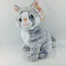 Melissa & Doug Greycie Gray Tabby Kitten Cat Stuffed Animal Plush 7525